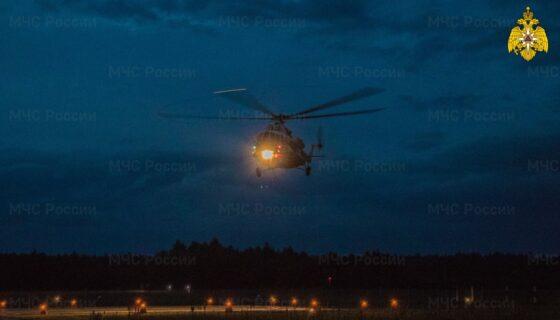 В Тверь на вертолете срочно доставили пациента