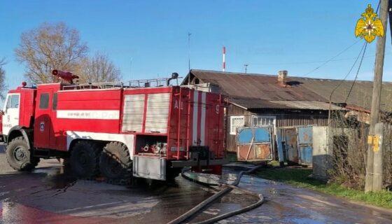 В Тверской области помогут многодетной семье, потерявшей двух детей на пожаре