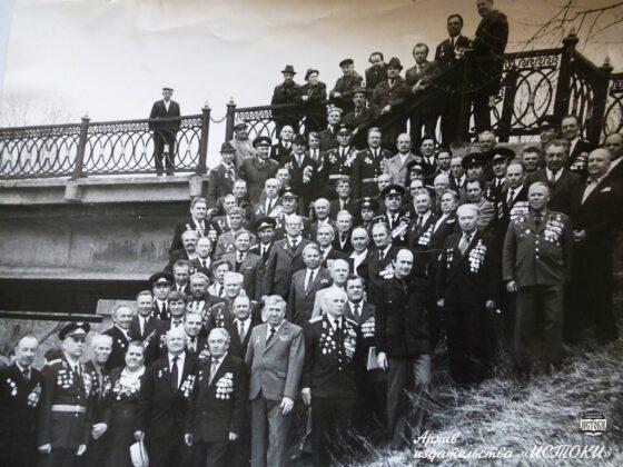 Опубликовано фото ветеранов Великой Отечественной  из  Вышнего Волочка 80-х годов