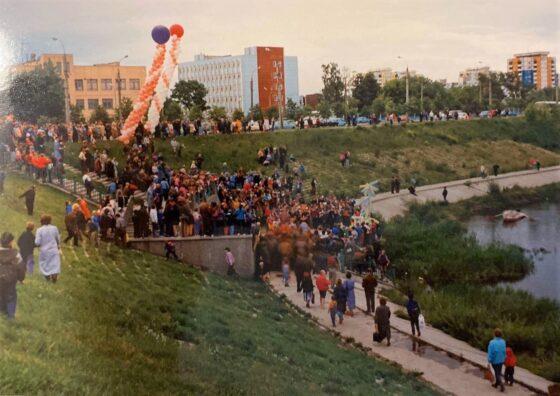Жители Твери с ностальгией вспоминают городские праздники девяностых