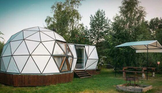 В Тверской области появились дома в стиле футуризма