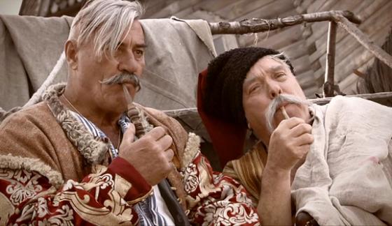 В Твери казаки рассказали детям об алкоголе и табакокурении