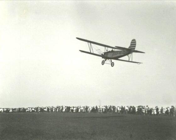 В соцсетях опубликовали фотографии первого самолета в Кимрах
