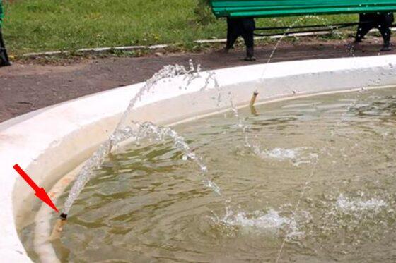 В Кимрах вандалы повредили единственный в городе фонтан