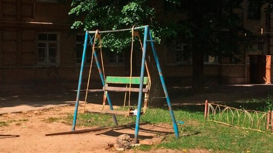 В Тверской области дети играли на опасных площадках