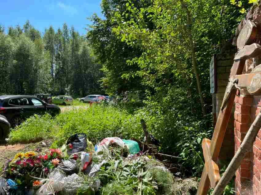 Отдых на старинном погосте в Конаковском районе