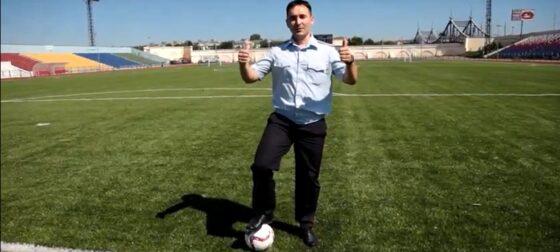 Тверские полицейские присоединились к флешмобу в поддержку сборной России по футболу
