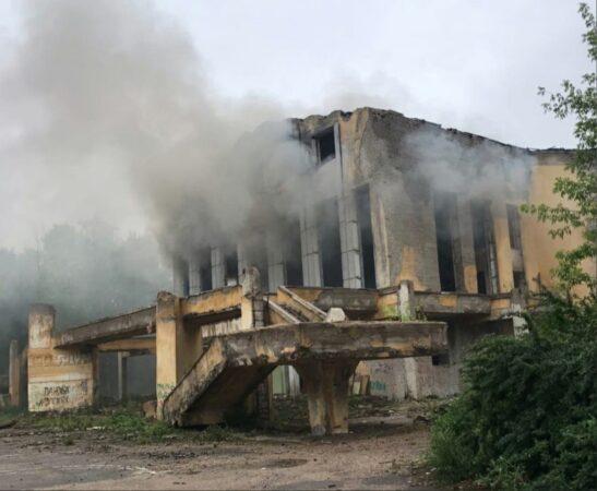 Активисты ОНФ  после пожара в заброшенном  ДК  еще раз  обратятся к прокурору