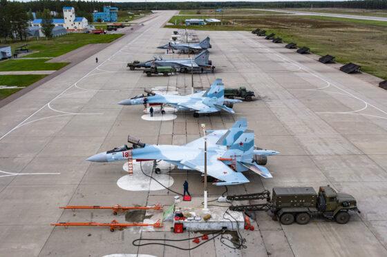 Военные аэродромы в Тверской области задействованы в ночных  учениях Минобороны
