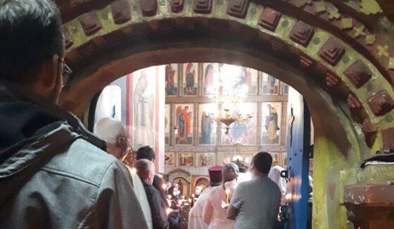 В Тверской области священник заплакал на отпевании Валентина Пажетнова