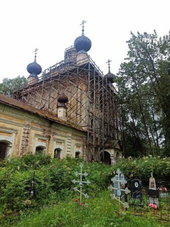 В Тверской области законсервируют старинный сельский храм