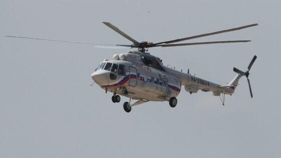 Ребенка доставили на вертолете санавиации из Бологое в Тверь