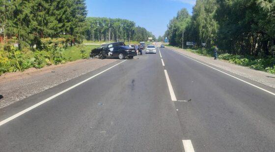 В Тверской области погиб водитель Тойоты, врезавшись в три автомобиля
