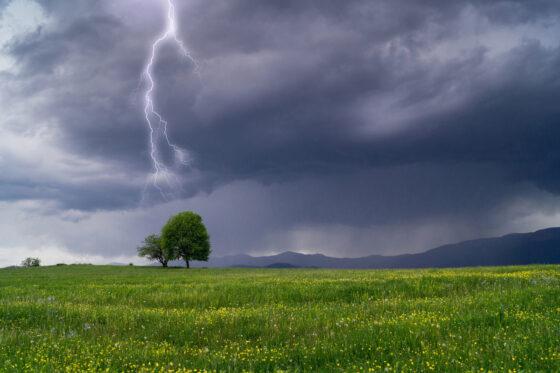 На Тверскую область надвигается гроза