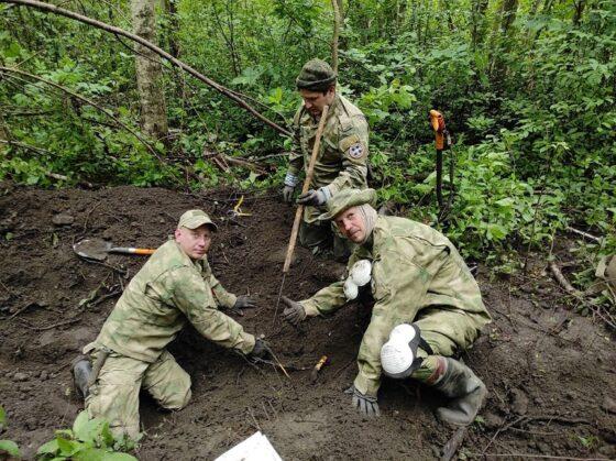 Поисковики узнали имя тверского солдата, погибшего в Эстонии