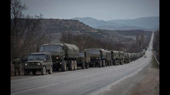 Дороги Тверской области будут заполнены колоннами военной техники