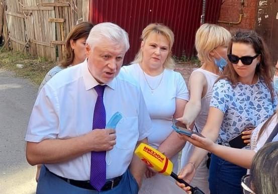 Известный политик Сергей Миронов узнал, какие проблемы волнуют жителей Тверской области
