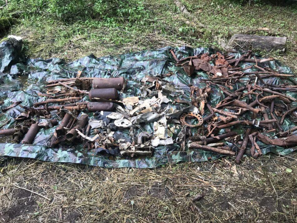 В Тверской области нашли останки летчика-истребителя