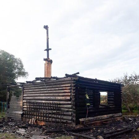 В деревне Слободиха Тверской области заживо сгорел пенсионер
