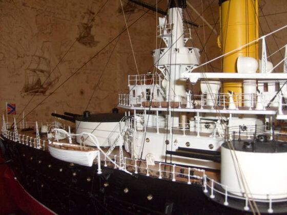 В Тверской области можно увидеть уникальные модели русских кораблей
