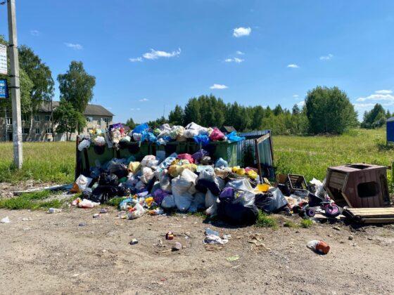 Активисты ОНФ обратили внимание на горы мусора в Конаковском районе