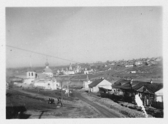 В соцсетях опубликовали фотографии старицких храмов, сделанные в 1941 году